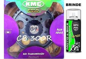 Kit Relação Cb300r Kmc Aço 1045 Kit Tração Cb 300 Completo