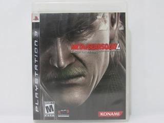 Metal Gear Solid 4 , Ps3 Usado , Buen Estado