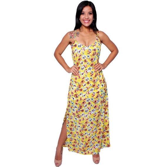 Vestido Longo Florido Mixxon - Asya Fashion