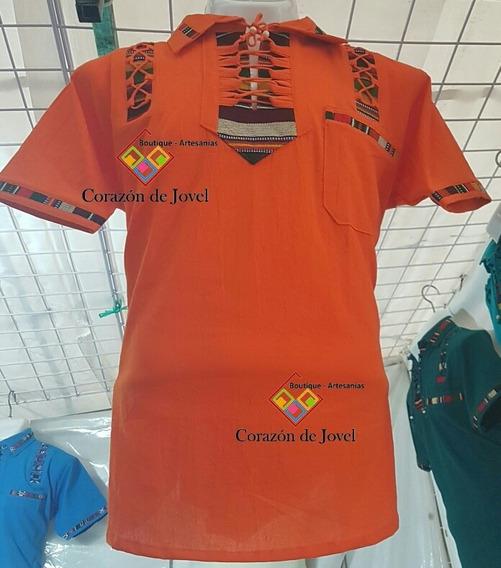 Camisas/guayaberas Bordadas/artesanales/típicas De Chiapas