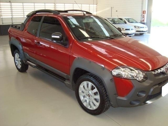 Fiat Strada Adventure 1.8 Cd Vermelha 16v Flex 3p Manual