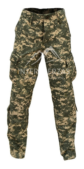 Pantalon Camuflado Tactico Militar Marpat Multicam Acu Negro