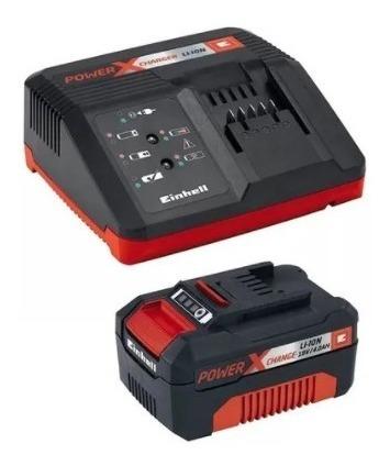 Kit Bateria Power X-change 18v E Carregador 4.0ah Bivolt