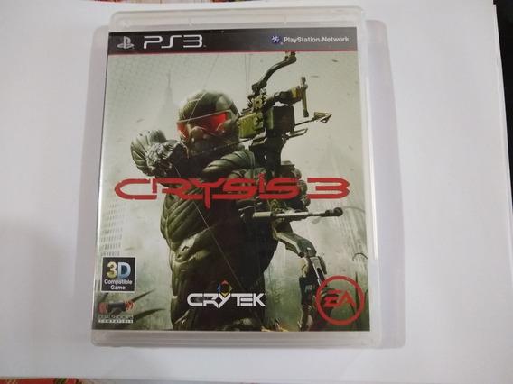 Jogo Game Ps3 Crysis 3 Mídia Física Usado
