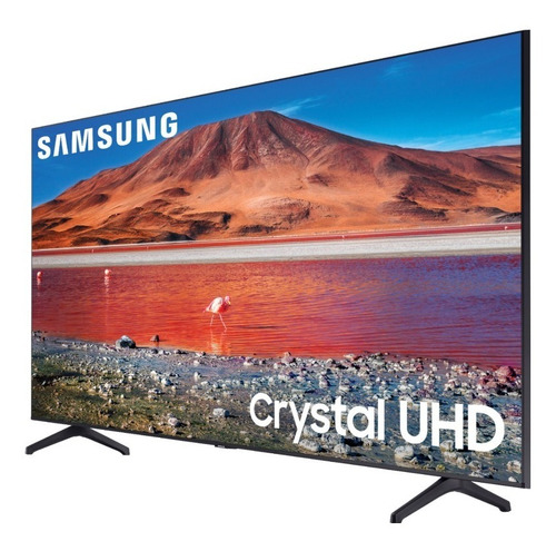 Imagen 1 de 5 de Smart Tv Samsung 43 Un43tu7000 Crystal Uhd 4k Gtia Ahora 12