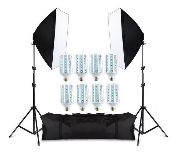 Kit De Iluminação Para Estúdio Fotográfico Pk-sb01 Bivolt