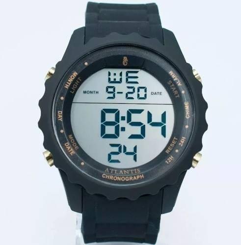 Lote Kit 15 Relógios Digital Esportivo Digital Atlantis