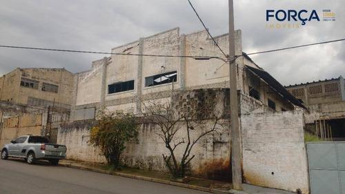 Galpão Para Venda, 434 M² Por R$ 1.100.000,00 - Parque São Pedro - Itaquaquecetuba/sp - Ga0300