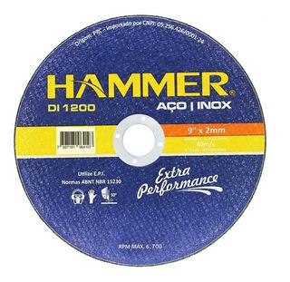Disco Inox Hammer 9 X 2,0mm Gydi1200 Kit C/5