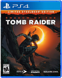 Shadow Of The Tomb Raider / Limited Steelbook Edition / Ps4
