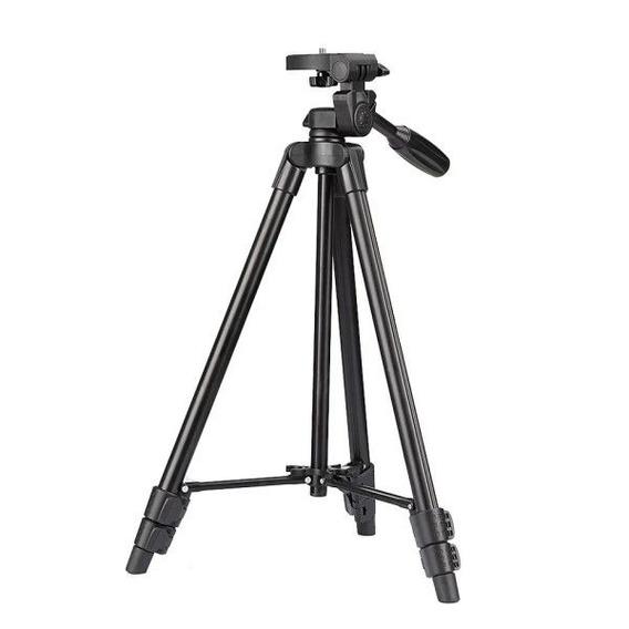 Tripé Profissional Portátil Para Filmadora E Câmera Digital