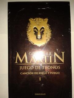Juego De Tronos George R Martin Canción Hielo Y Fuego 1