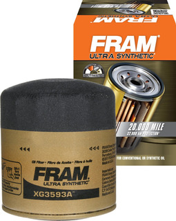 Fram Xg3593a Ultra Synthetic Spin-on Oil Filter With
