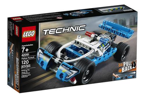 Lego Technic Cazador Policiaco