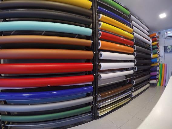 Adesivo Envelopamento Cores Diversas 60cm X 4m Color