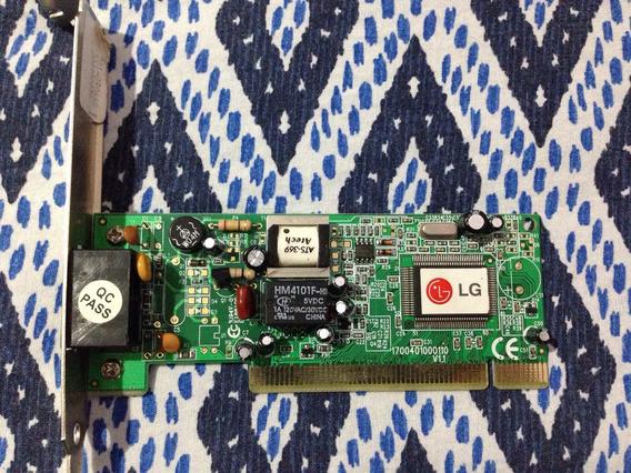 Placa De Fax Modem Lg Lm-i56n