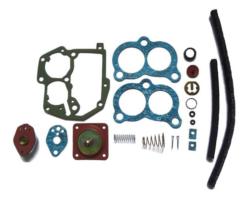 Imagem 1 de 1 de Kit Junta Carburador Solex Brosol 3e