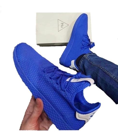 Tênis Tecido Azul Pharrell Williams Hu