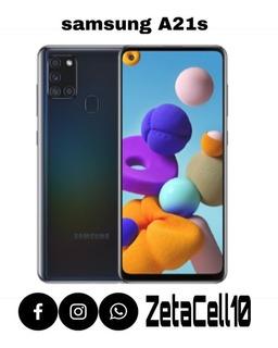 Samsung Galaxy A21s 64gb Sellados Nuevo De Fabrica