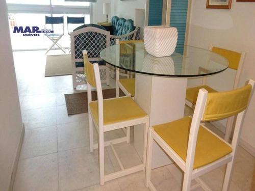Imagem 1 de 14 de Apartamento Residencial À Venda, Centro, Guarujá - . - Ap8828