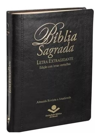 Bíblia Sagrada Letra Extra Gigante - R. A. Capa Preta