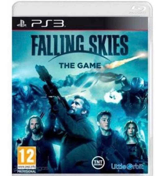 Jogo Falling Skies: The Game Para Ps3 (mídia Física)