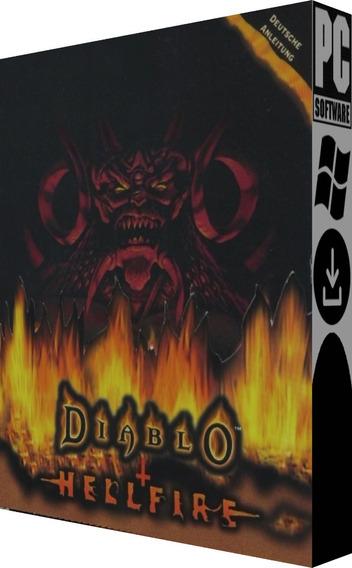 Diablo 1 + Hellfire - Pc - Mídia Digital