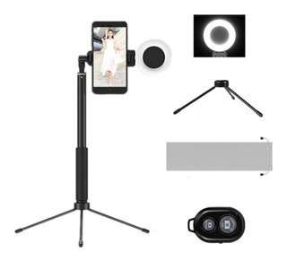 Selfie Stick Led, Trípode Bluetooth 1.7mts Android Y iPhone