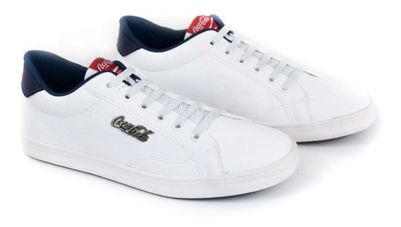E Tenis Masc United Easy Branco Cc1558_50 Coca-cola 20851