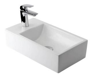 Lavatorio Toilette Grande 1 Agujero Blanco