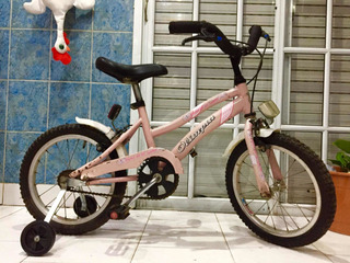 Bicicleta Bmx Rodado 16 Con Rueditas Lista Para Andar