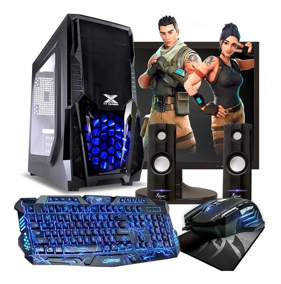 Pc Gamer I3 8gb Ram Hd 500gb Geforce Monitor 19 Kit Gamer