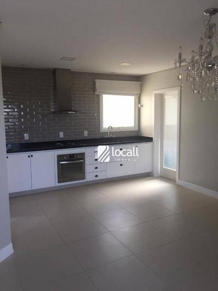 Apartamento Com 3 Dormitórios À Venda, 112 M² Por R$ 550.000 - Jardim Vivendas - São José Do Rio Preto/sp - Ap1700