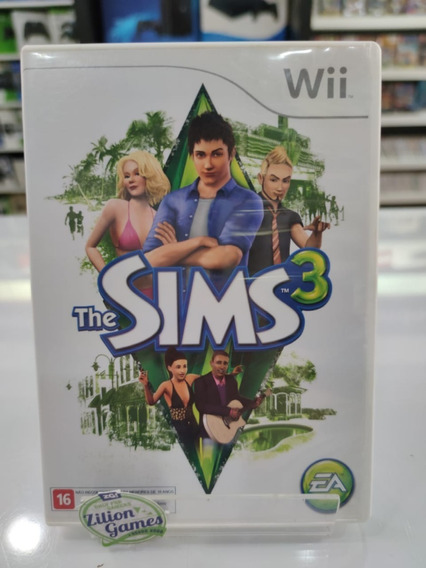 The Sims 3 Nintendo Wii Original Seminovo