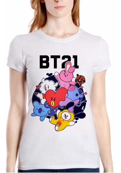 Playera Bt21 Bts (here We Go) Kpop