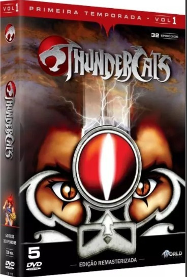Box Original: Thundercats - 1ª Temporada - Vol.1 - 5 Dvd
