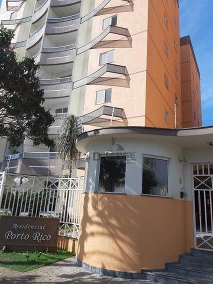 Apartamento Com 3 Dormitórios À Venda, 94 M² Por R$ 480.000,00 - Residencial Porto Rico - Paulínia/sp - Ap18147