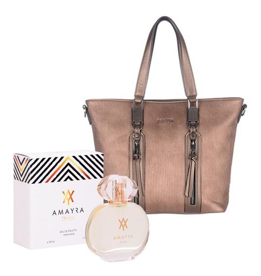 Carteras Importadas Mas Perfume Regalo Amayra 15938