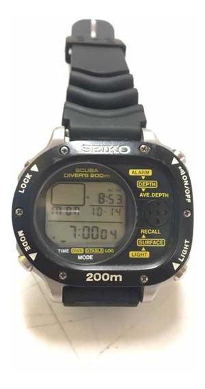 Relógio Raro Mergulho Aqualand Seiko Scuba Diver
