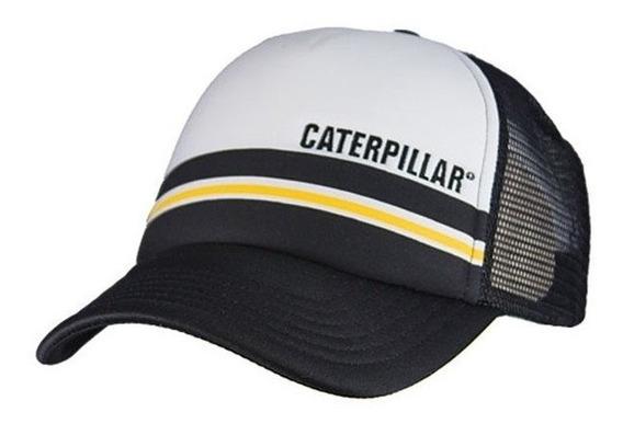 Cachucha Caterpillar 100% Original Gorra Esponja Malla Cat23