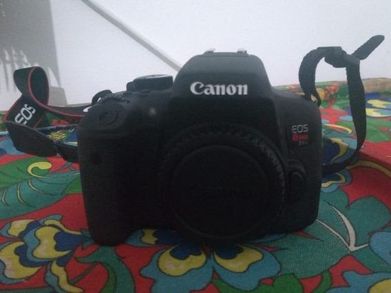 Canon Rebel T6i + Lente 18-55mm