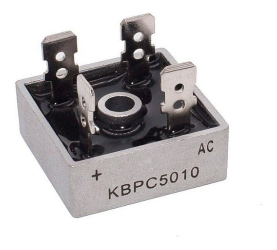 Ponte Retificadora Kbpc5010 Ac 50a 1000v