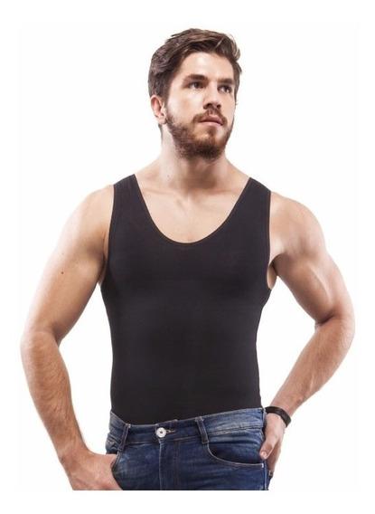 Camiseta Faja De Hombre En Algodón Marca Galess