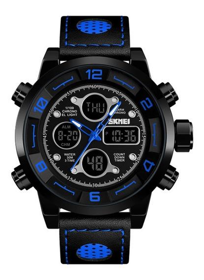 Reloj Tipo Militar Sport Navy Seal Skmei 1355 5 Atm.