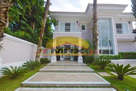 Mansão Mobiliada - 4 Suítes - Jardim Acapulco - Guarujá - Mr9479
