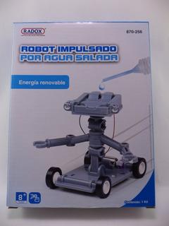 Robot Impulsado Por Agua Salada
