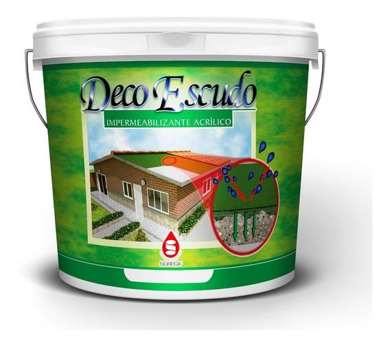 Pintura Impermeabilizante Liquido Sureca Deco Escudo Cuñete