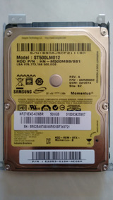 Hd Notebook Samsung Np270e4e 500 Gb Sata Ii St500lm012