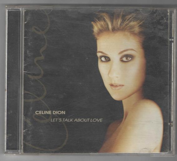 Cd - Celine Dion - Let´s Talk About Love - (1583)