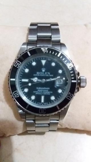 Reloj Rolex Submariner Acero Inoxidable.